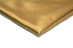Satin ohne Lycra Golden