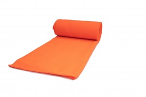Fleece-Strickwaren 200 g/m² Neon orange