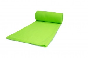 Fleece-Strickwaren 300 g/m² Neon Lime