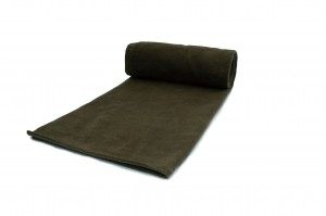 Fleece-Strickwaren 200 g/m² Dunkle Olive