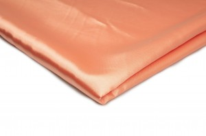 Satin ohne Lycra Papaya