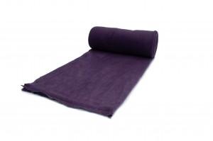 Fleece-Strickwaren 200 g/m² Dunkelviolett