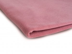 Fleece-Strickwaren 410 g/m² Schmutziges Rosa