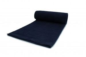 Fleece-Strickwaren 200 g/m² Marineblau